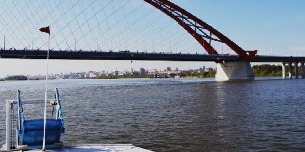 "The historical river excursion ""Six Bridges of Novosibirsk"""