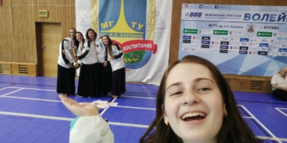 Girls from Novosibirsk became champions of Russia in samurai art and French boxing